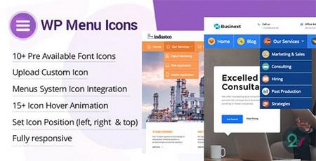 اضافه کردن آیکون به فهرست وردپرس با افزونه WP Menu Icons