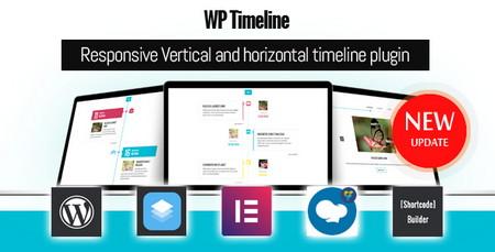 افزونه ایجاد تایم لاین در وردپرس WP Timeline