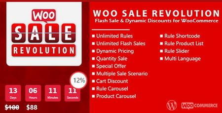 افزونه شمارنده معکوس تخفیف برای ووکامرس Woo Sale Revolution