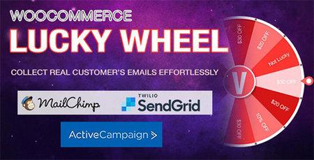 دانلود افزونه Lucky Wheel   افزونه گردونه شانس ووکامرس