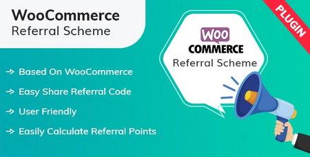 افزونه معرفی به ازای امتیاز در ووکامرس WooCommerce Referral Scheme