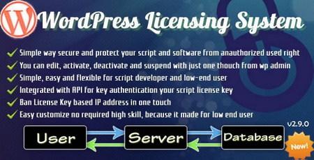 افزونه سیستم لایسنس وردپرس WordPress Licensing System Basic
