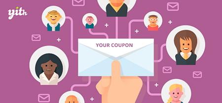 افزونه سیستم کوپن ایمیل در ووکامرس YITH WooCommerce Coupon Email System