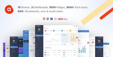 دانلود قالب HTML مدیریت وب سایت AdminBite