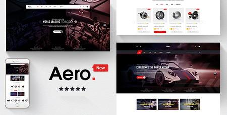 دانلود قالب حرفه ای Aero برای اپن کارت