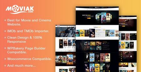 قالب فیلم و سینما AmyMovie برای وردپرس