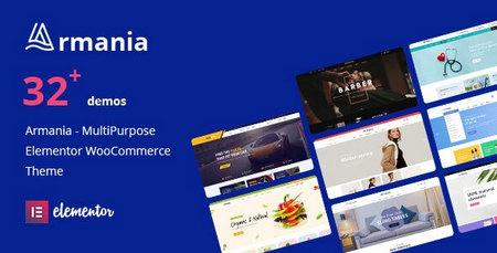 دانلود قالب Armania   قالب فروشگاهی و راستچین وردپرس