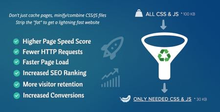 افزونه افزایش سرعت وردپرس Asset CleanUp Pro