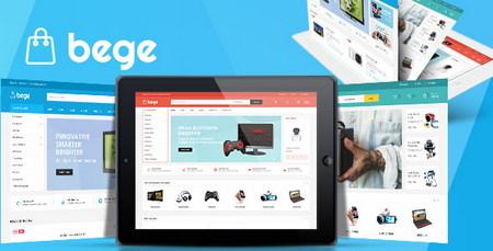 دانلود قالب Bege برای فروشگاه ساز مجنتو