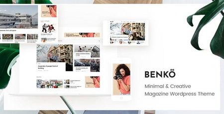 دانلود قالب مجله ای Benko برای وردپرس