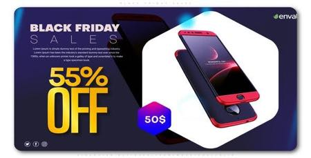 دانلود پروژه افترافکت معرفی محصولات و تخفیف ویژه Black Friday Sale