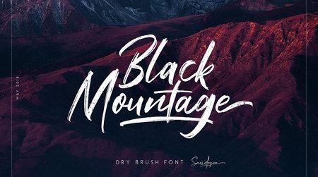 دانلود فونت حرفه ای Black Mountage