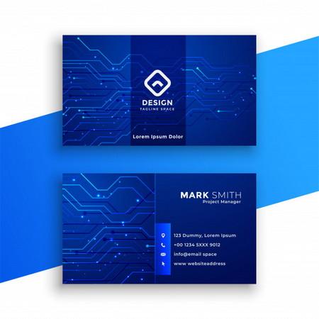 دانلود طرح لایه باز کارت ویزیت شرکتی با طراحی خاص