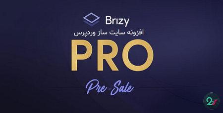 افزونه سایت ساز وردپرس Brizy PRO