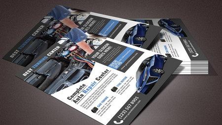 دانلود طرح لایه باز تراکت تعمیرگاه اتومبیل (مکانیکی)