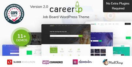 دانلود قالب CareerUp   قالب کاریابی برای وردپرس