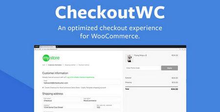 دانلود افزونه CheckoutWC   افزونه شخصی سازی صفحه پرداخت ووکامرس