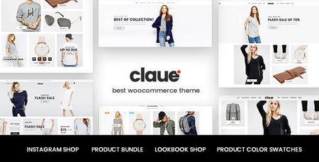 دانلود قالب Claue   قالب فروشگاهی ووکامرس