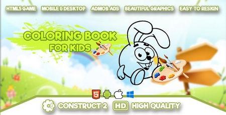 اسکریپت بازی رنگ آمیزی برای کودکان Coloring Book for Kids