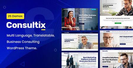 قالب مشاوره کسب و کار Consultix برای وردپرس