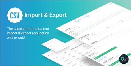 اسکریپت ایمپورت و اکسپورت کردن فایل های CSV