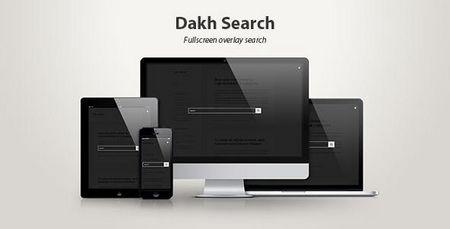 افزونه جستجوگر تمام صفحه برای وردپرس Dakh Search