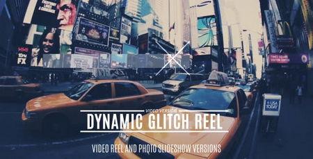 دانلود پروژه آماده افتر افکت تیزر تبلیغاتی Dynamic Glitch Reel