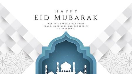 دانلود پروژه آماده افتر افکت تبریک عید Eid Mubarak Greetings