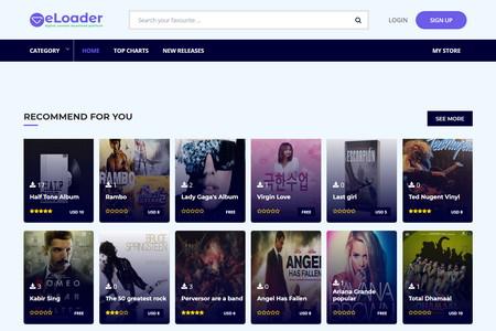 راه اندازی سایت دانلود با اسکریپت eLoader