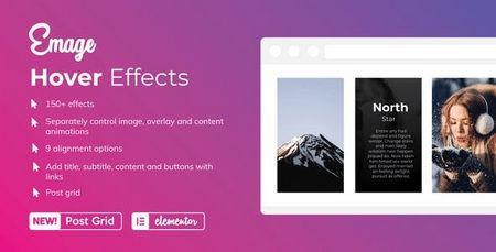 ایجاد افکت هاور بر روی تصاویر صفحه ساز المنتور با افزونه Emage