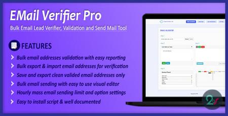 اسکریپت اعتباری سنجی آدرس ایمیل Email Verifier Pro