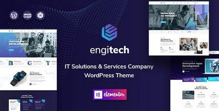 دانلود قالب Engitech   پوسته خدماتی انجیتک برای وردپرس