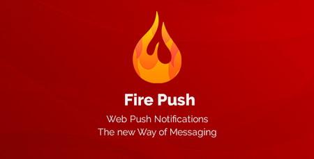 افزونه اطلاع رساني وردپرس Fire Push