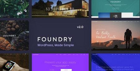 دانلود قالب Foundry   قالب چندمنظوره وردپرس