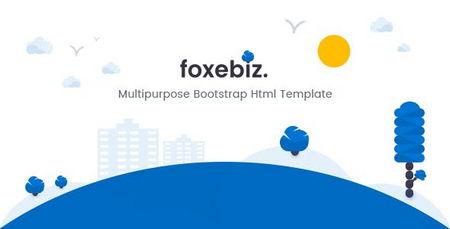 دانلود قالب HTML چندمنظوره Foxebiz