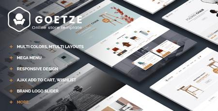 دانلود قالب فروشگاهی Goetze برای مجنتو