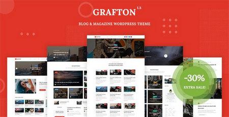 دانلود قالب Grafton   قالب مجله ای برای وردپرس