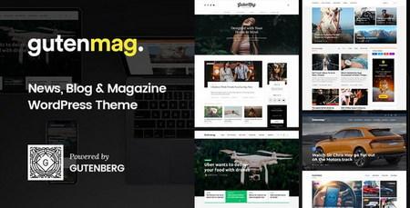 قالب مجله ای و وبلاگی Gutenberg برای وردپرس
