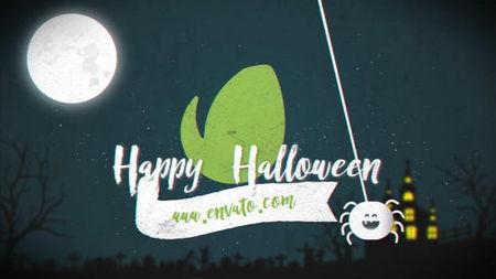 دانلود پروژه آماده افتر افکت هالووین Halloween