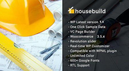 پوسته ساخت وساز Housebuild برای وردپرس
