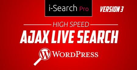 جستجوی زنده و آژاکس در وردپرس با افزونه i Search Pro