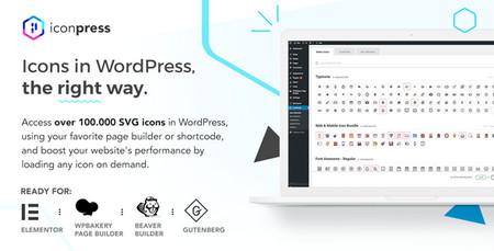 افزونه مدیریت آیکونها در وردپرس IconPress Pro