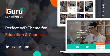 دانلود قالب Iguru   آموزش و دوره های آنلاین آیگرو برای وردپرس
