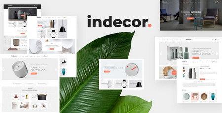 دانلود قالب Indecor برای فروشگاه ساز اپن کارت
