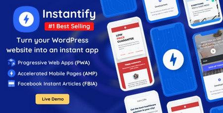 افزونه Instantify   دانلود افزونه اینستنتیفای برای وردپرس