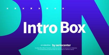 دانلود پروژه افتر افکت آماده به صورت اینترو IntroBox