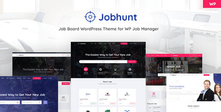 دانلود قالب Jobhunt   قالب کاریابی و استخدام جاب هانت برای وردپرس