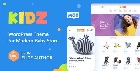 دانلود قالب Kidz   قالب فروشگاهی بچه و کودک برای وردپرس