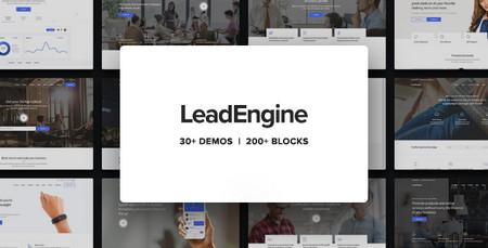 دانلود پوسته چندمنظوره LeadEngine برای وردپرس