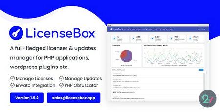 اسکریپت مدیریت لایسنس و ارائه آپدیت محصول LicenseBox